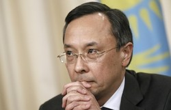 Kazakh FM thanks Iran for role in Astana process