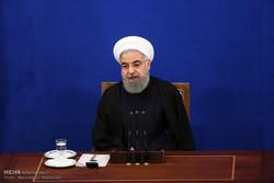 نشست خبری حسن روحانی رئیسجمهور