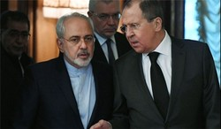 Zarif, Lavrov discuss Syria on the phone