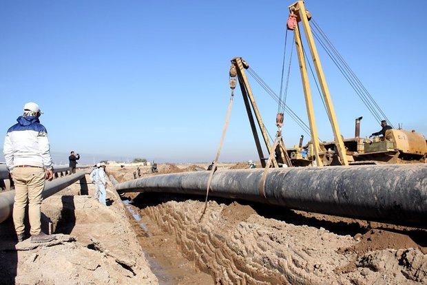عملیات اجرایی ۶ کیلومتر لوله گذاری خط دوم غدیر در آبادان آغاز شد