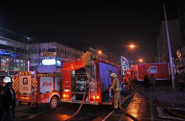 Tahran'da yangın: İkinci Plasco olayı kaygısı