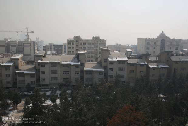 Tehran grappling with serious air pollution