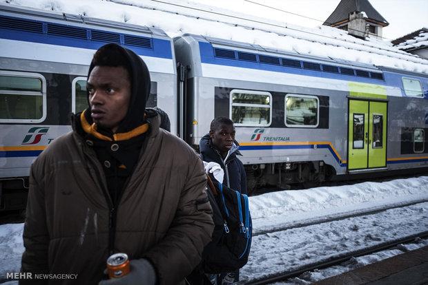 کاهش تعداد پناهجویان راهی شده به سمت آلمان