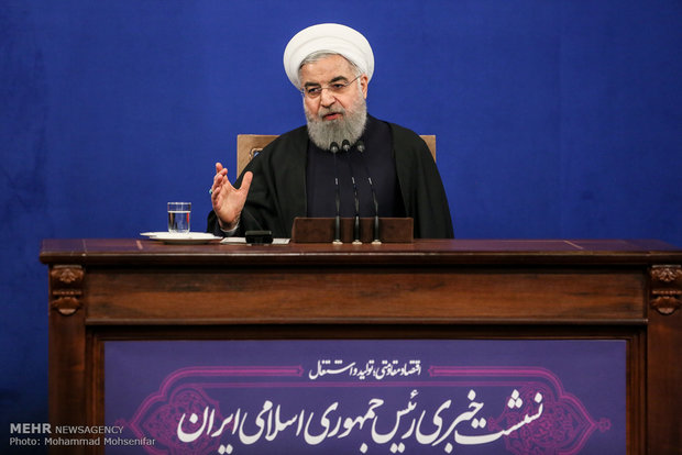 Pres. Rouhani to attend presser with national, foreign media