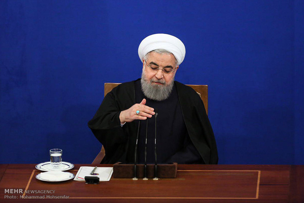 Iran's Rouhani rules out negotiations over missiles