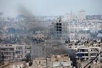 حمله خمپاره ای تروریستها به دمشق