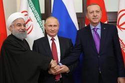 رؤسای جمهور ایران، روسیه، ترکیه