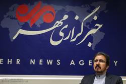 بهرام قاسمي يتفقد مقر وكالة مهر للأنباء / صور
