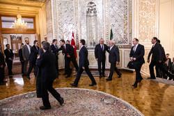 دیدار جواد ظریف با وزیر امور خارجه ترکیه