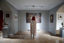 افتتاح بخش بین الملل جشنواره تجسمی فجر
