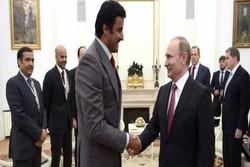 امیر قطر پوتین