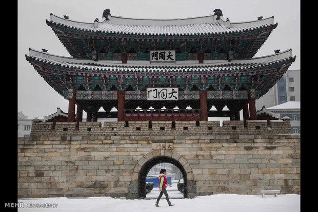 Kuzey Kore'den Kış görüntüleri