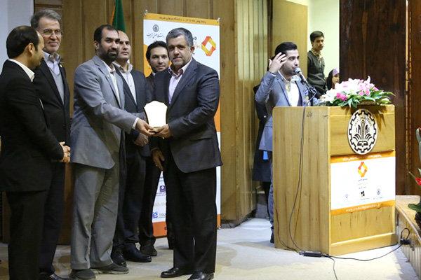تندیس زرین جشنواره ملی نوآوری محصول برتر ایرانی برای بانک انصار