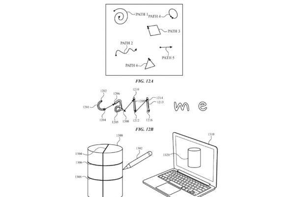 قلم هوشمند اپل در هوا طراحی می کند
