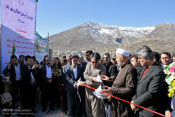 افتتاح طرح آب رسانی اضطراری به شهر بانه