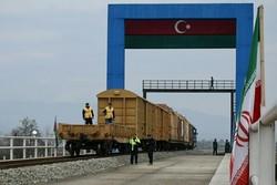 Azerbaijan's 1st freight train arrives in Iran via Astara rail route