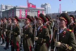 کره شمالی رژه نظامی برگزار کرد