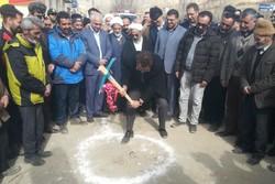 کلنگ زنی گاز رسانی به روستای تاش - کراپشده