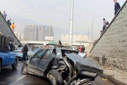 تصادف در اتوبان تهران-کرج