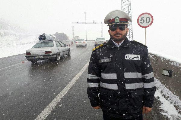 لغزندگی محورهای شرق تهران/تردد غیرضرور نکنید