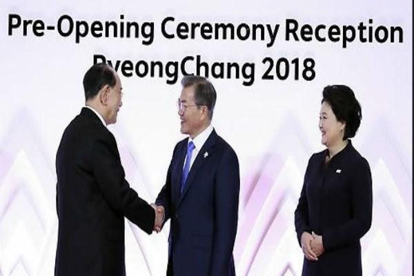 دیدار رهبران دو کُره در حاشیه المپیک زمستانی