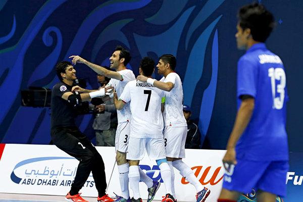 تیم ملی فوتسال ایران به فینال جام ملتهای آسیا رسید