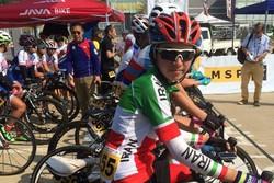 جوانترین بانوی رکابزن تیم ملی ششم شد