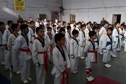 مسابقات تکواندو خردسالان و نونهالان دورود برگزار شد