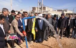 پروژه آبرسانی به خرامه بهره برداری شد/ بهره مندی ۵ هزارخانوار