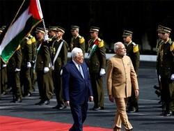 مودی ، محمود عباس فلسطین