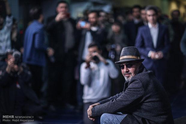 رضا عطاران بازیگر فیلم مصادره در هشتمین روز از جشنواره فیلم فجر