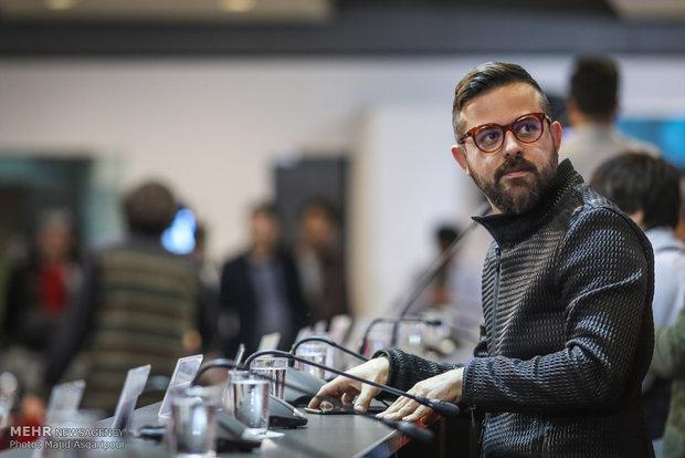 هومن سیدی بازیگر فیلم مصادره در هشتمین روز از جشنواره فیلم فجر
