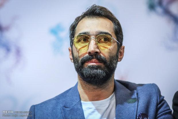 هادی کاظمی بازیگر فیلم مصادره در هشتمین روز از جشنواره فیلم فجر