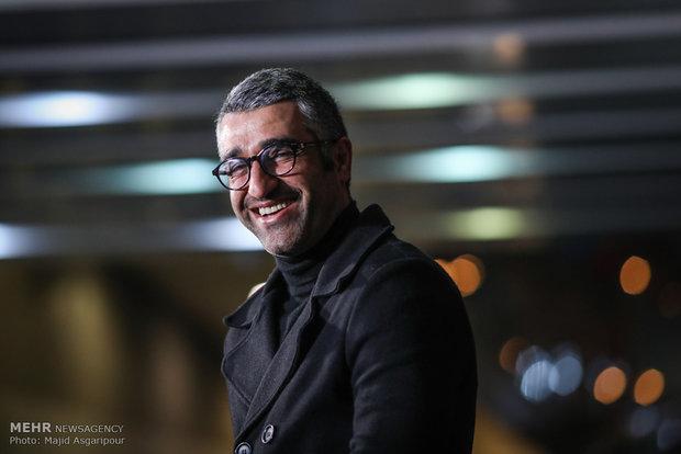 پژمان جمشیدی بازیگر فیلم سوءتفاهم در هشتمین روز از جشنواره فیلم فجر