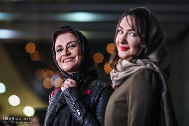 مریلا زارعی بازیگر فیلم سوءتفاهم در هشتمین روز از جشنواره فیلم فجر