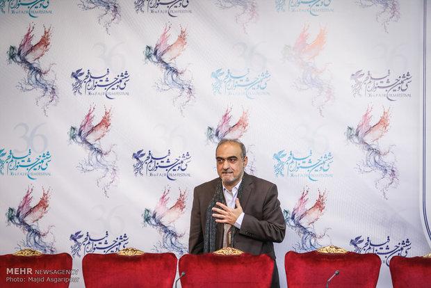 احمدرضا معتمدی کارگردان فیلم سوءتفاهم در هشتمین روز از جشنواره فیلم فجر