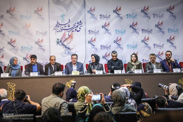 نشست خبری فیلم سوءتفاهم در هشتمین روز از جشنواره فیلم فجر