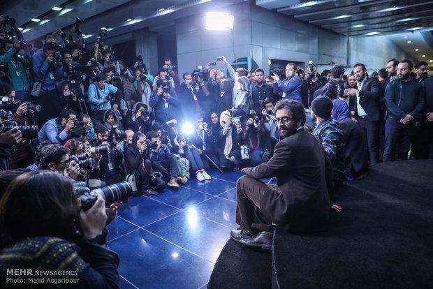 بهروز شعیبی کارگردان فیلم دارکوب در هشتمین روز از جشنواره فیلم فجر