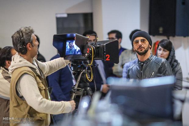 امین حیایی در هشتمین روز از جشنواره فیلم فجر