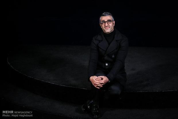 پژمان جمشیدی بازیگر فیلم سوءتفاهم در هشتمین روز از سی و ششمین جشنواره فیلم فجر