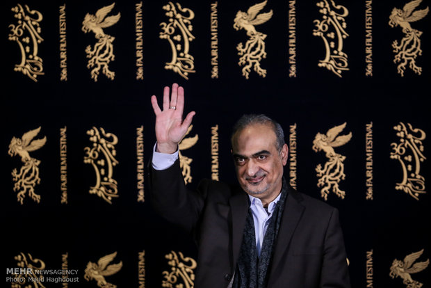 احمدرضا معتمدی کارگردان فیلم سوءتفاهم در هشتمین روز از سی و ششمین جشنواره فیلم فجر