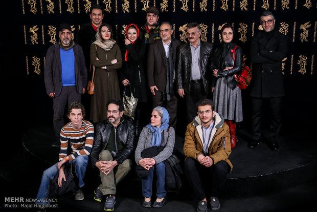 عوامل فیلم سوءتفاهم در هشتمین روز از سی و ششمین جشنواره فیلم فجر