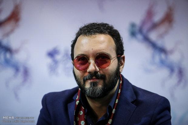 کامبیز دیرباز بازیگر فیلم سوءتفاهم در هشتمین روز از سی و ششمین جشنواره فیلم فجر