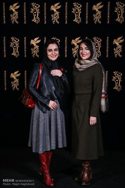 هانیه توسلی و مریلا زارعی در هشتمین روز از سی و ششمین جشنواره فیلم فجر