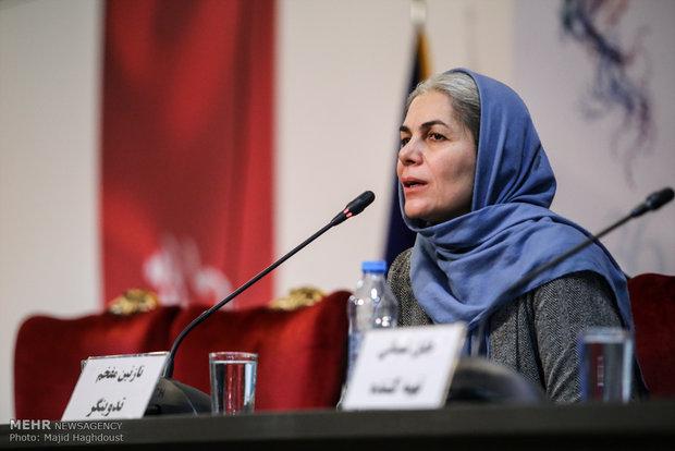 نازنین مفخم تدوینگر فیلم سوءتفاهم در هشتمین روز از سی و ششمین جشنواره فیلم فجر