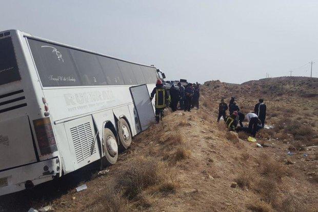 سقوط اتوبوس به دره در محور یاسوج به اصفهان/ تایید مرگ سه مسافر