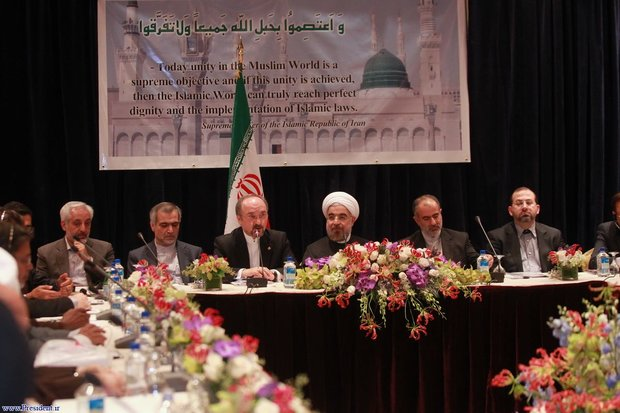 Rouhani's PR rejects claims on private dinner with US congressmen