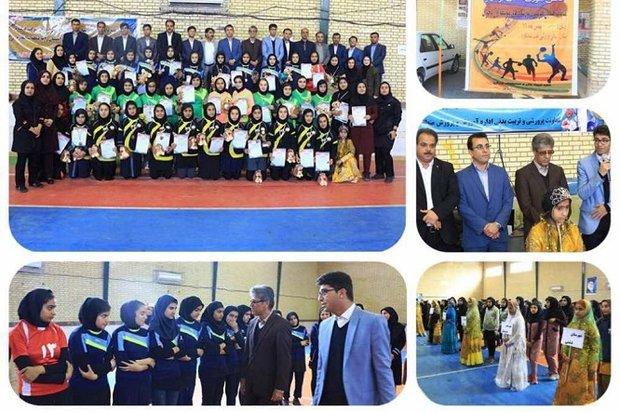 اختتامیه مسابقات هندبال قهرمانی دانشآموزان استان بوشهر برگزار شد