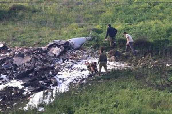 Israel air superiority clouded due to downed F-16