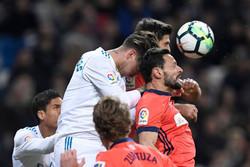 دیدار تیم های فوتبال رئال مادرید و سوسیه داد